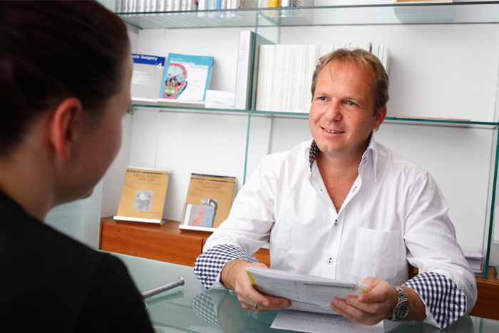 Praxis Klinik Pöseldorf - Empfang