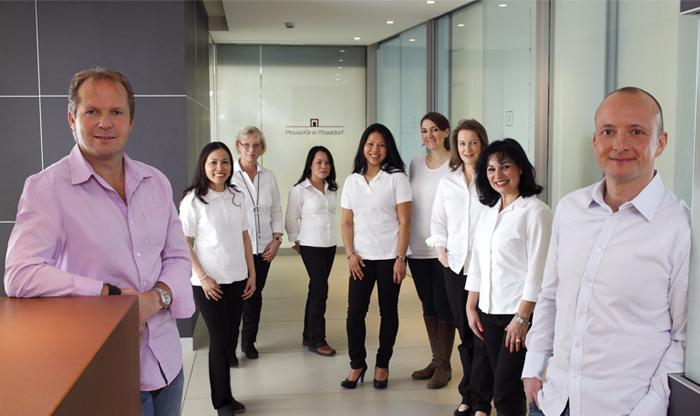 Foto vom Team der Klinik